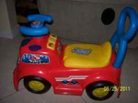 fire truck with sounds only used indoors $10.00 obo