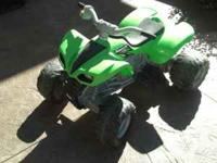 Powerwheels by Fisher-Price Kids ATV has two speeds,