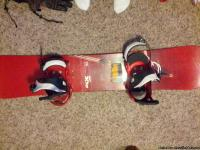 "I have a ""Ride Cue"" series 152 Snowboard as well as"
