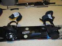 Like new Ride snowboard bindings. I believe these sold