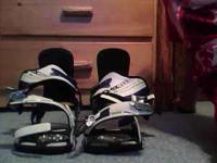 For sale is a pair of Ride Snowboard bindings. They