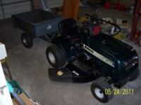 Bolens 17 horsepower rider lawnmower. Great condition.