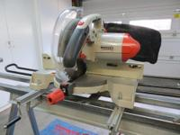 "Excellent Condition Ridgid 10"" Compound Miter Saw with"