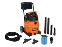 This RIDGID 16 gallon High Performance wet/dry vac is