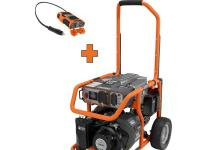 A RIDGID power tool offers reliable, clean power with