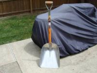 Up for sale is a very large aluminum Shovel. I bought