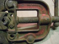 Here is an older Ridge Tool Co. (now Ridgid) pipe clamp