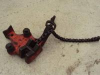 Ridgid Pipe Vise Chain Style Model Number BC-410. IN
