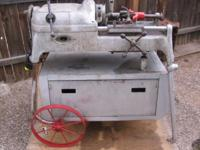 Plumbing tools, Pipe machines, Threaders, Saws all,