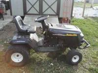 Good running garden tractor for sale. (have the mower