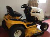 Cub Cadet LT1050 Hydrostatic Drive riding lawn mower.