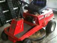 Riding Lawn Mower. Needs some work. $100  Location: