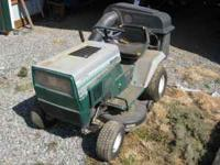 "18 H.P. 38"" Lawn Tractor from Montgomery Ward in good"