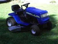 I have a riding lawnmower for sale....Yard Machine....