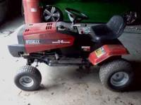 We are moving! This Huskee lawn mower is in good to