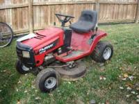 MURRAY RIDING LAWN MOWER FOR SALE RUNS GREAT 14.5 HP