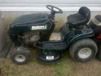 Riding Lawn Mower for sale. Bolens that has a 6 speed