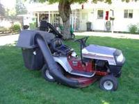"42"" blade, 18HP Briggs Engine. Runs good, does nice job"