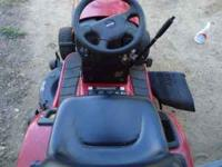 Craftsman . Has the Kohler V/TWIN commercial 20hp