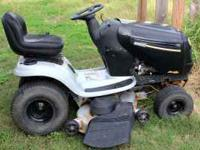 "Poulon Pro Platinum. 48"" cut, 23hp Intek v-twin. Low"