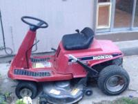 Type:GardenType:Tools $365 , Honda Riding Lawn Mower