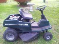 Sears Craftsman Riding Lawn Mower, purchased new in