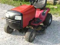 I HAVE A BIG MURRAY RIDING LAWN MOWER/TRACTOR FOR SALE.