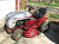 Riding Lawn Mower White Outdoor ,1 owner, 13.5 HP 38