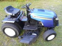 "Riding lawn mowers starting 500.00 to 850.00, 38"" to"