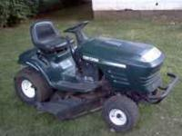 I have two riding lawn mowers for sale... Craftsman 42""