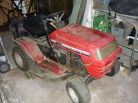 I got my new lawn tractor so I am selling my old one.