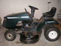 Crafrsman riding lawnmower for sale for $150,00. 42""