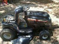 Need to sell one to fix the other. Yard Machine, 7