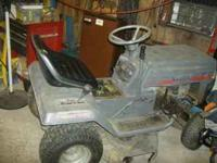 "White lawnmower 12hp-36""cut. 250.00--please call  ask"