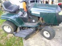 Need a riding lawnmower? I have one that works great.