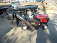 Yard pro riding lawn mower... 16.5 HP Briggs&Strattion