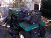 Riding Lawnmower 42 inch Weed Eater VIP $200 CALL Joe