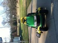 Almost New John Deere Riding Lawnmower with 26 HP