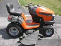 For Sale: 2009 Husqvarna LGT2554 Garden Tractor with