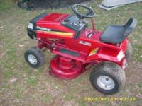 "Murray riding mower - 12 HP - 38"" cut - $250 Also have"