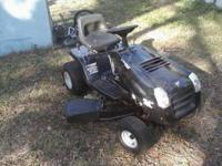 I have a very nice murry ride on mower hardly used with