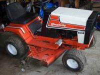 "SIMPLICITY RIDING MOWER 12 HORSE POWER 38"" DECK AND"
