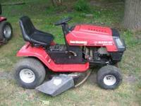 MTD Yard Machine Riding Mower 12.5 HP replaced with