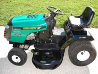 I have a limited edition weed eater riding mower for
