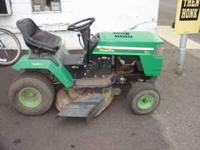 nice riding mower @southside vendor's mall  Location: