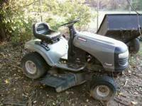 mower runs &mowes very good open to trades & offers