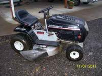 Newer riding mower, its a special edition yard machines