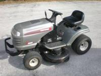 Sears 42inch Riding Lawn Mower 18.5 HSP. Nwe Blades