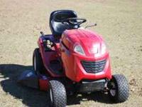 TORO LX 426 20-HP BRIGGS AND STRATTON MOTOR 3 YRS OLD