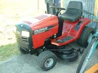 "Murray Riding Mower 20 hr, 46"" cut, $ 550.00, Black N"
